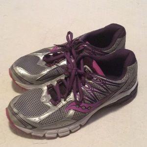 Saucony Lancer Sneakers Purple & Gray 9
